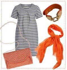 #Orange #Stripes #Essential by Brigitte von Boch #bevonboch