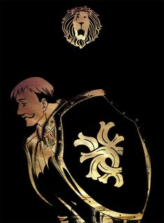 'Escanor - Seven Deadly Sins' T-Shirt by Blason Seven Deadly Sins Tattoo, Escanor Seven Deadly Sins, Anime Angel, Anime Demon, Manga Anime, Anime Fight, Touka Wallpaper, Wallpaper App, Tatuagem Game Of Thrones