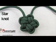 Star Knot   Swiss Paracord