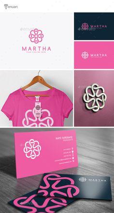 Martha Logo Template #design #logotype Download: http://graphicriver.net/item/martha-logo/12160678?ref=ksioks