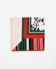 COLOURFUL PRINTED SCARF-View All-ACCESSORIES-WOMAN | ZARA United States