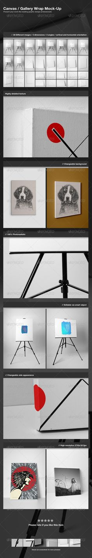 Canvas Gallery Wrap Mock-Up Download here: https://graphicriver.net/item/canvas-gallery-wrap-mockup-/3264135?ref=KlitVogli