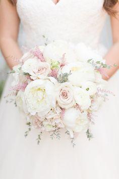gorgeous bridal bouquet with wheat, floral design by Le Petit Jardin ...