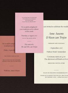 Foil Wedding Invitations, Wedding Invitation Design, Invites, Grid Layouts, Film Director, Say Hello, Layout Design, Typography, Stationeries