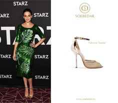 Jenny Slate wearing the Soebedar 'Fabrizia' Gold Patent Leather Sandal to the Screening of 'My Blind Brother' at The London Hotel in West Hollywood.  #jennyslate #soebedar