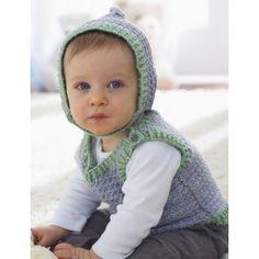 Free Intermediate Baby's Vest Crochet Pattern