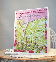 Stacey's Stamping Stage: The Cat's Pajamas - Bestest Friend