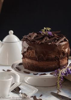 Cuinant: Tarta de Chocolates Rústica