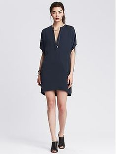Cocoon Dress from Banana Republic