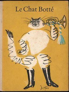 Charles PERRAULT / Hans FISCHER. Le Chat Botté. Delpire, 1958. E.O.