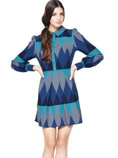 Zig Zag Print Shirt Dress, http://www.very.co.uk/love-label-zig-zag-print-shirt-dress/1294106493.prd