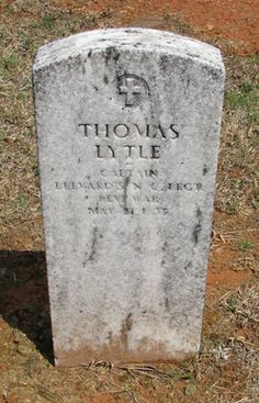 Capt Thomas Lytle - Revolutionary War (My great-great-great-great-great Grandfather) Old Fort, NC