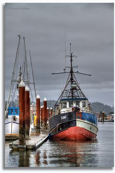 Settled in , Old Town Florence, Oregon.| Flickr - Photo Sharing!