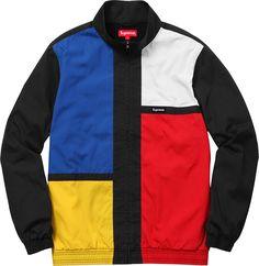 Supreme Color Blocked Track Jacket