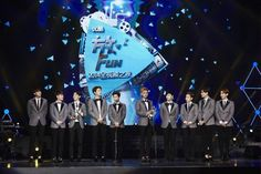 """EXO Voted """"Most Popular Asian Group"""" and """"Asia's Best Performance"""" at the 2014 YOUKU Night"""