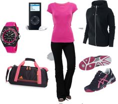 """""""Workout Gear"""" by averbeek on Polyvore"""