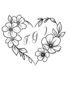 Red Heart Tattoos, Girly Tattoos, Mom Tattoos, Body Art Tattoos, Sleeve Tattoos, Tattos, Family Tattoo Designs, Heart Tattoo Designs, Flower Tattoo Designs