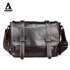 52.41$  Buy here - http://aliwp5.worldwells.pw/go.php?t=32752442968 - Hot Special Offer Single Sell Classic Men Genuine Leather Shoulder Bag Style Crossbody Vogue Star Bags 2017 Luxury Messenger