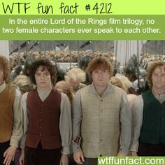 Lord of the Rings facts - WTF fun facts