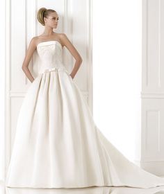 Brautkleider aus der Kollektion Costura 2015 - Pronovias