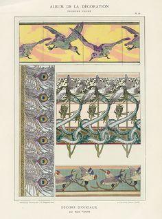 Calavas Art Nouveau Folio Album de la Decoration c1900