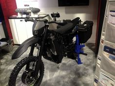 darpa's military stealth motorcycle