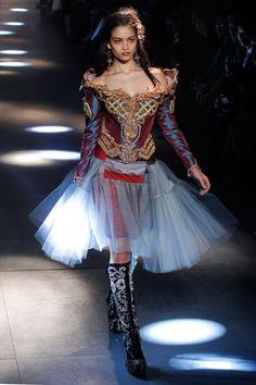 Vivienne Westwood Gold Label AW12/13 at Paris Fashion Week