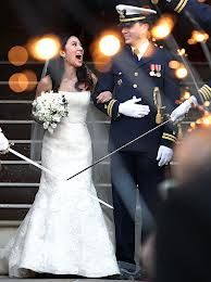 Michelle Kwan & Clay Pell