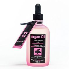 Pure Argan Oil with Frangipani Flower Absolute and Bergamot Essential Oil. 100ml. Organic. For Face, Body, Hair. - http://best-anti-aging-products.co.uk/product/pure-argan-oil-with-frangipani-flower-absolute-and-bergamot-essential-oil-100ml-organic-for-face-body-hair/