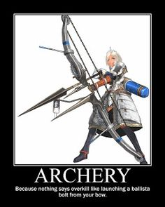 archery armor arrow blue_eyes bow_(weapon) capcom chains character_request crown fantasy gloves hat huge_weapon monster_hunter monster_hunter_g sakamoto_himeji sakamoto_mineji short_hair simple_background solo weapon white_background white_hair Monster Hunter G, Archer Characters, Dnd Funny, Geek Humor, Fantasy Rpg, Gaming Memes, Funny Games, Dungeons And Dragons, Costumes