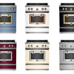 The new bold side of Big Chill with 6 rich colors and 4 distinctive metal finishes, the Classic matches virtually every space. Visit our website to design yours! #BigChill