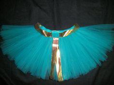 Princess Merida tutu, Brave inspired tutu custom made sizes Newborn-4t via Etsy