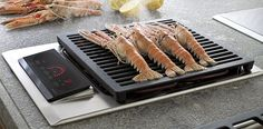 Wolf ICBIG15/S Electric Grill Cooktop - 381mm