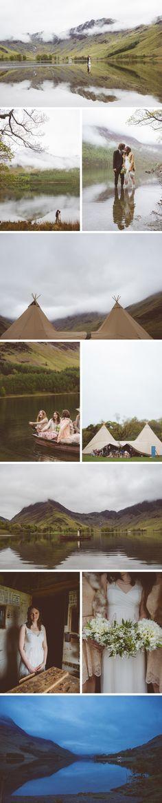 Beautiful outdoor wedding on a lake   //    FOXINTHEPINE.COM