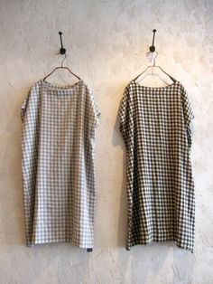 cool in all senses--keep an eye out for gray fabric in checks, dots, stripes, houndstooth...