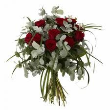 red roses with eucalyptus - Google Search