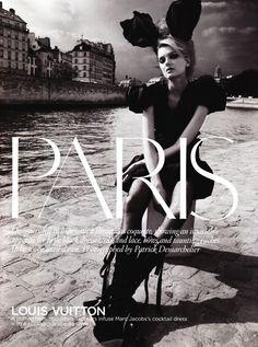 Lily Donaldson | Patrick Demarchelier #photography | Paris Vogue UK August 2009