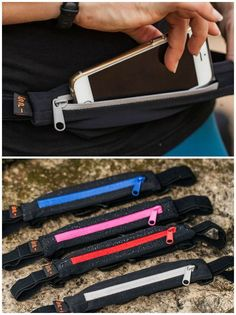 Spibelt Performance series belt is fantastic for holding your tech while running