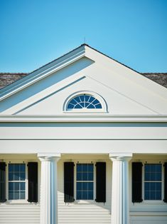 Oblong Valley Greek Revival, designed by Hendricks Churchill, is built for the ages, so of course it had lightning protection. Lightning Rod, Churchill, Greek, Traditional, Gallery, Building, Outdoor Decor, Beautiful, Design