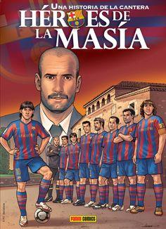 Héroes de La Masía. Còmic del FC Barcelona