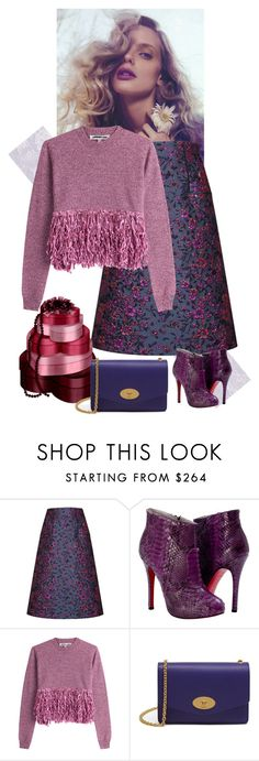 """""""My wool pullover style"""" by gagenna ❤ liked on Polyvore featuring SANCHEZ, Talbot Runhof, Paolo Shoes, McQ by Alexander McQueen, Mulberry, AlexanderMcQueen, mulberry, harveynichols and paoloshoes"""