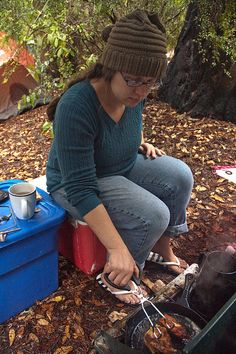 Cooking and Camping in theRain