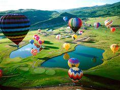 #4 ride in a hot air balloon