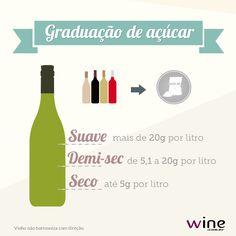 Seco, suave ou demi-sec? Eis a questão... Aprenda mais sobre as graduações de açúcar de cada tipo de vinho. #wine #vinho #mundovinho