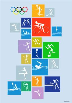 Olympic Pictogram Poster on Behance