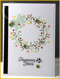 Carte Scrap #677 - Totally trees - Stampin'up!