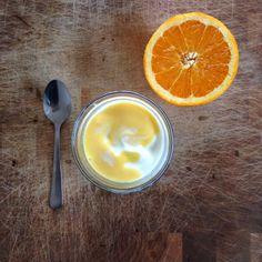 Gunns momsemat: Yoghurt med appelsincurd Breakfast, Morning Coffee