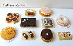 Miniature bakery: My french cuisine