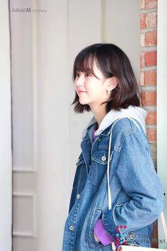 Kim so hyun for soup_official🍀🌸 Iu Short Hair, Short Hair Styles, Kim So Hyun Fashion, Korean Fashion, Women's Fashion, Kim Sohyun, Girl Artist, Korean Actresses, Korean Celebrities