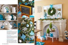 Love this inspiring Christmas tour - tons of great ideas and tips. Look no further for inspiration and ideas for Christmas Decorating by following the Blogger's Stylin Christmas tour of homes | In My Own Style